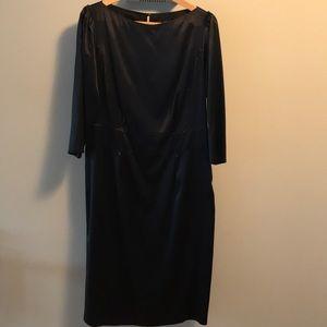 Boss Hugo Boss lined silk dress